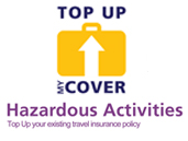 Top up my activity cover